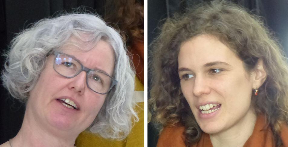 Janine Weber vom SSLV, Lea Menzi von Silviva