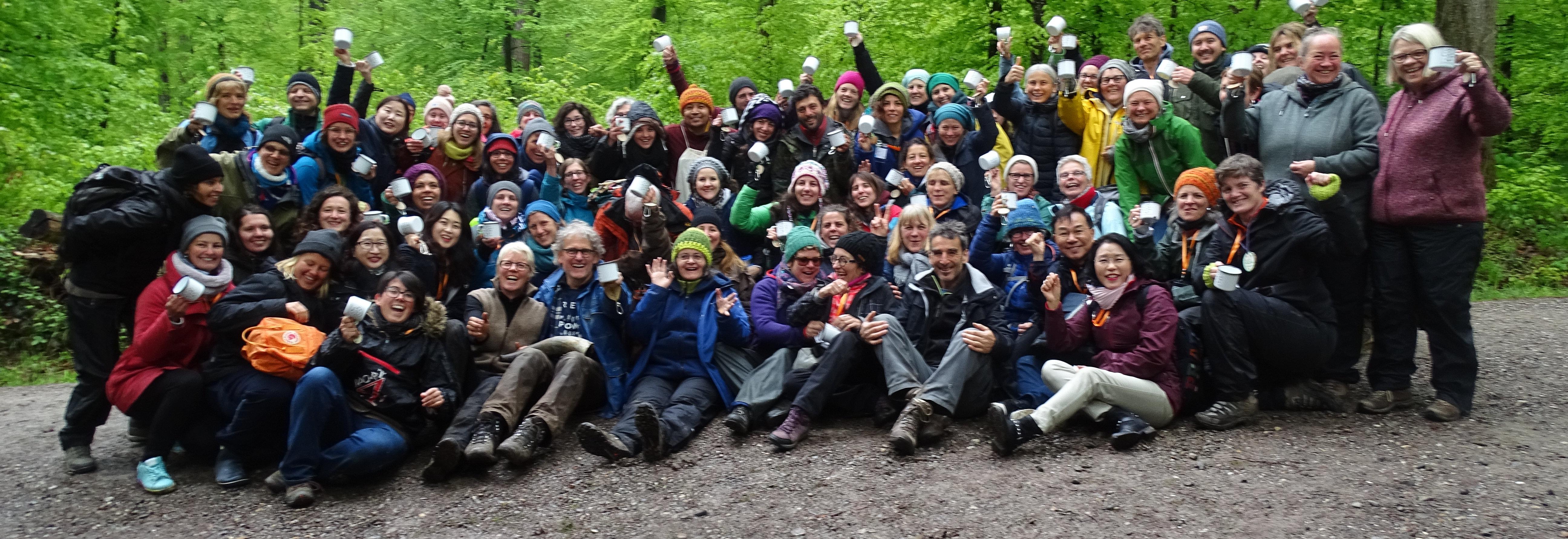 Das Gruppenfoto mit unseren tollen und wunderbaren Teilnehmer von der Konferenz