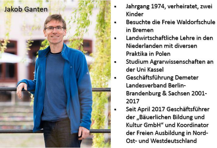 Zur Person Jakob Ganten