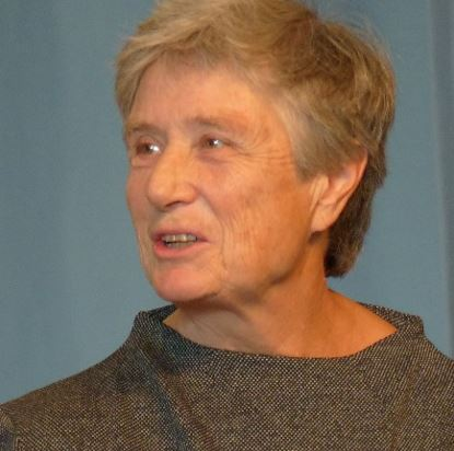 Helga Forssmann told of the first private travelling kindergarten from 1968 in Wiesbaden