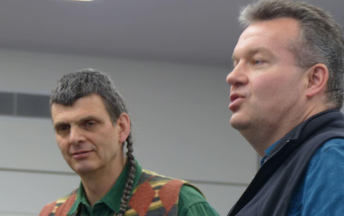 Jürg Schär und Erich Gyr waren bei der ersten Gründungsversammlung 2006 im Kongress Hotel in Olten dabei