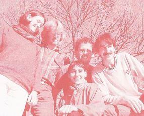 Gründer vom Feuervogel 1996: von Links                  Katharina und Arthur Elmler, Christoph Lang, Barbara Kessler und Didier Moser