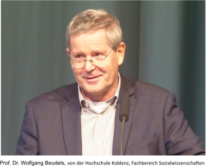 Prof. Dr. Wolfgang Beudels from Koblenz University, Department of Social Sciences