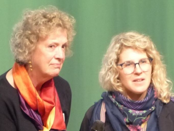 Jane Williams-Siegfriedsen from Denmark and Marlene Power from Canada as speakers in Berlin