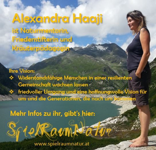 Alexandra Haaji, www.spielraumnatur.at