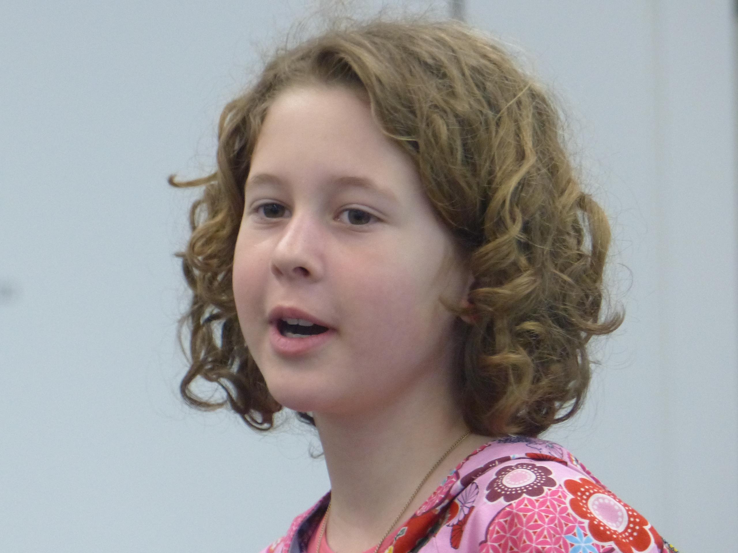 Fia, 9 Jahre alt, erzählt aus ihren Erinnerungen aus der Waldspielgruppenzeit