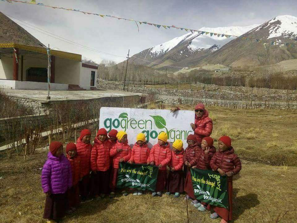 """The project """"GoGreen Go Organic"""" is essential for the survival of the people of Ladakh"""