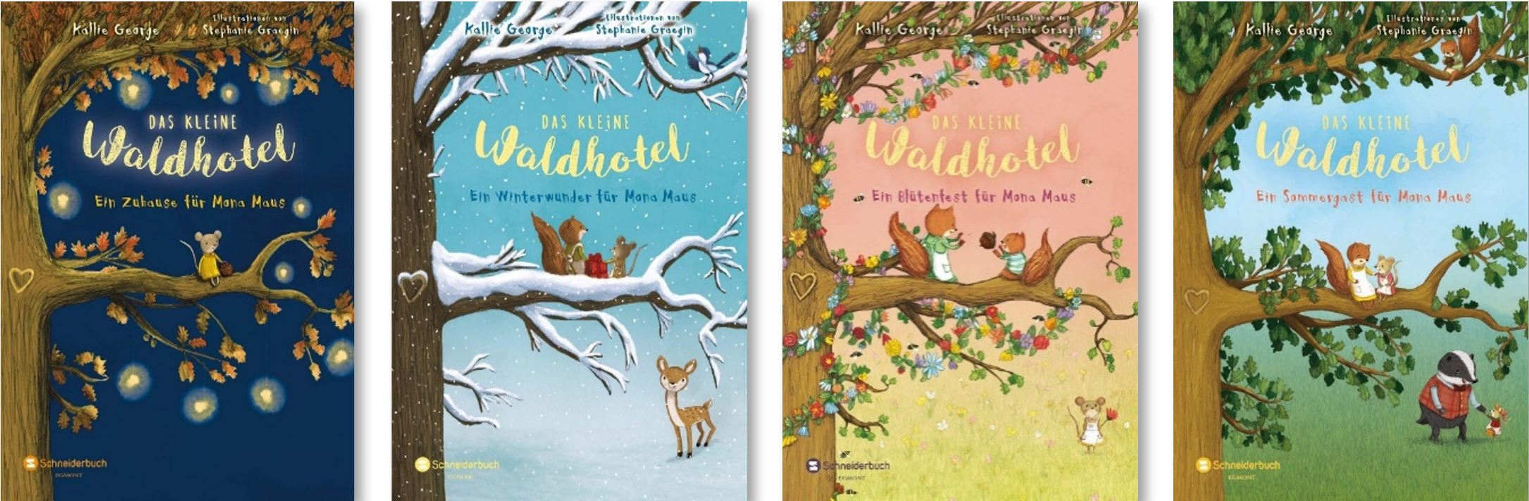 Das kleine Waldhotel mit Mona Maus und vielen anderen Tieren aus dem Wald sind herzerwärmende Abenteuer um Freundschaft, Mut und das Glück, seinen Platz im Leben zu finden! Geignet zum Vorlesen und selber lesen