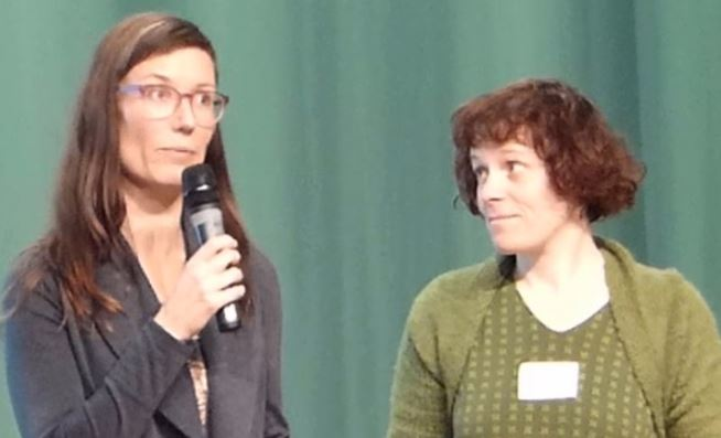 Dr. Tereza Valkounova and Jana Passerin from the Czech Republic as speakers at the congress in Berlin