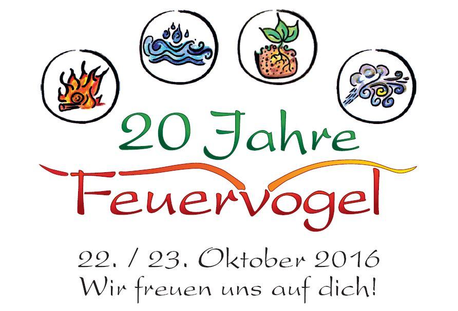 Der Feuervogel Anlass - 20 Jahre - Projekte für Mensch und Natur