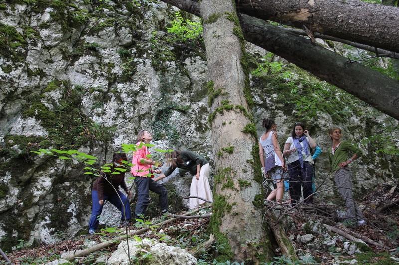 Die beeindruckende Natur und Landschaft im Naturpark Chasseral hat wesentlich zum Gelingen der Erfa-Tagung beigetragen.