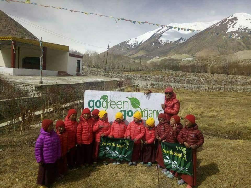 Das Projekt «GoGreen Go Organic» ist überlebensnotwendig für die Menschen in Ladakh