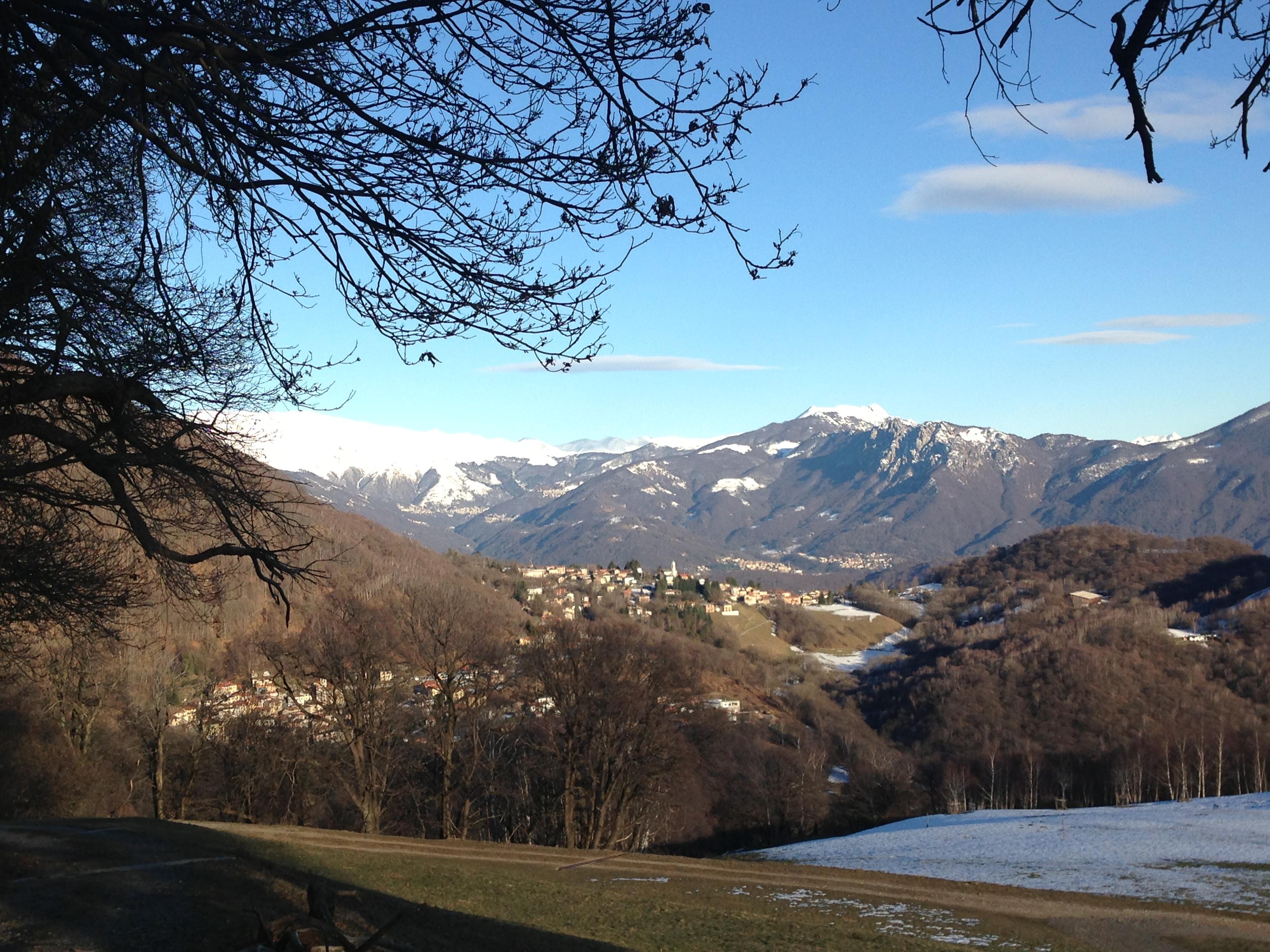 """Auf dem """"Weg der Wunder"""" durch das Tal der Magliasina im Wanderparadies Malcantone im Tessin"""