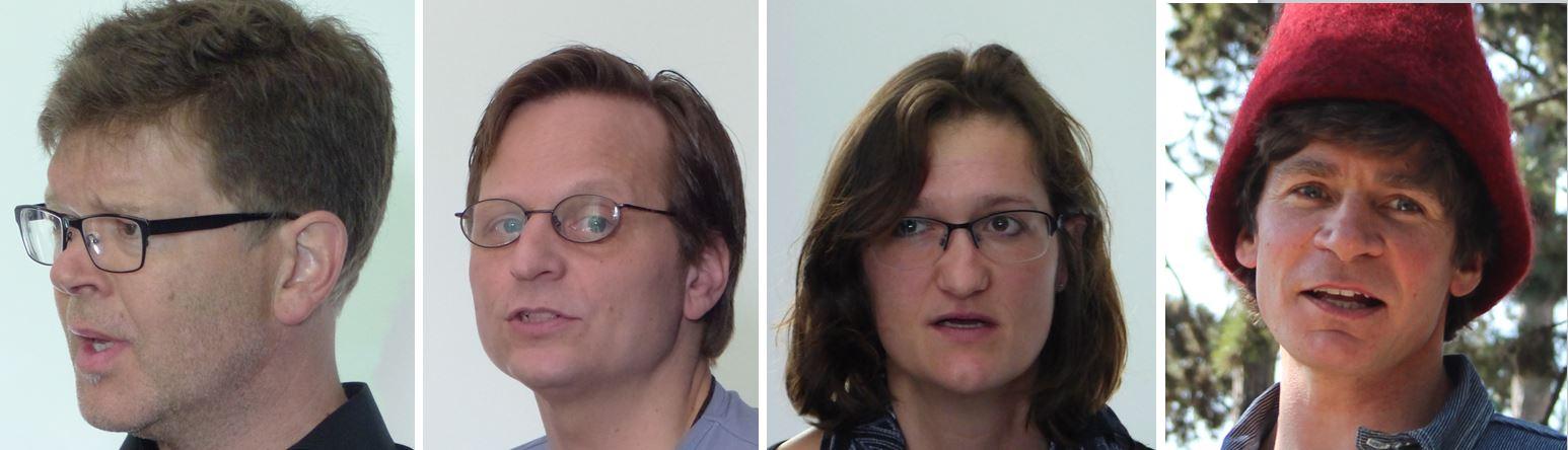 Tobias Kamer (Präsident), Marcel Fierz, Andrea Fröhlich, Reto Bühler