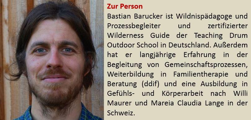 Für mehr Informationen zu Bastian Barucker bitte hier Nachlesen