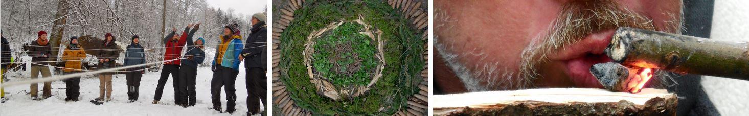Der Kurs liefert eine Vielzahl von Beispielen für freudvolle Aktivitäten in der Natur.